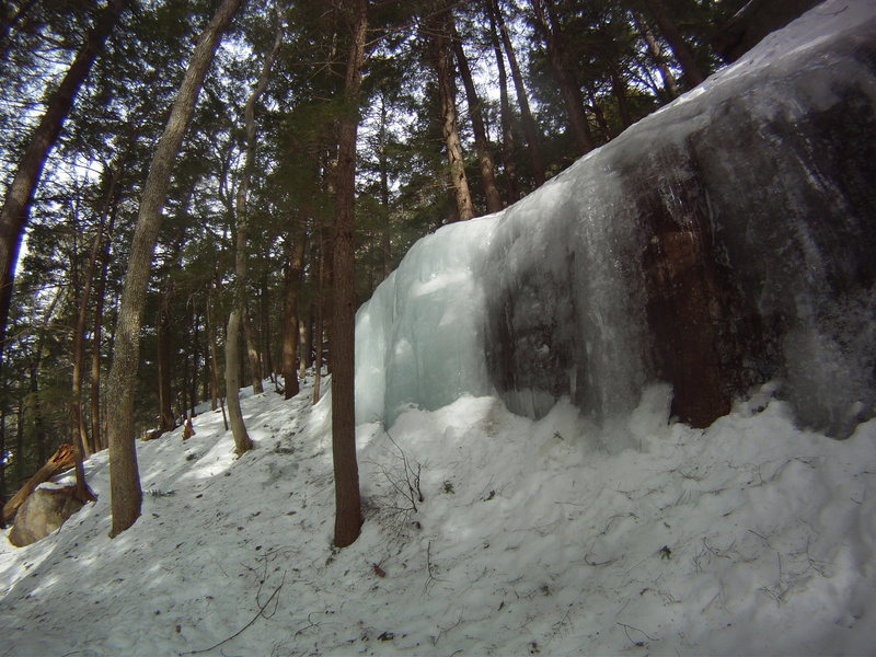 Rock Climbing Photo: Another view of the ice