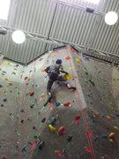 Rock Climbing Photo: Comp route 9?