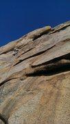 Rock Climbing Photo: Headed towards the gaping maw. Photo by Berto