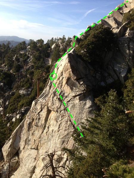 Rock Climbing Photo: Fish Taco