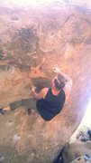 Rock Climbing Photo: Working another problem on pocket rocket.  This on...