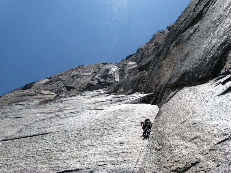 Rock Climbing Photo: El Cap - Dihedral Wall