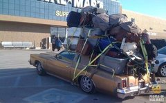 Rock Climbing Photo: Dirtbaggin' wagon