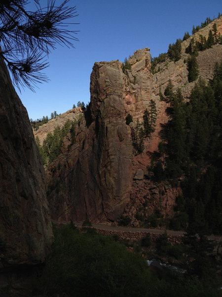 Rock Climbing Photo: Summer 2013 pre-flood.