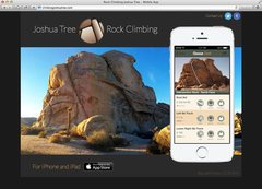 Rock Climbing Joshua Tree for iPhone and iPad
