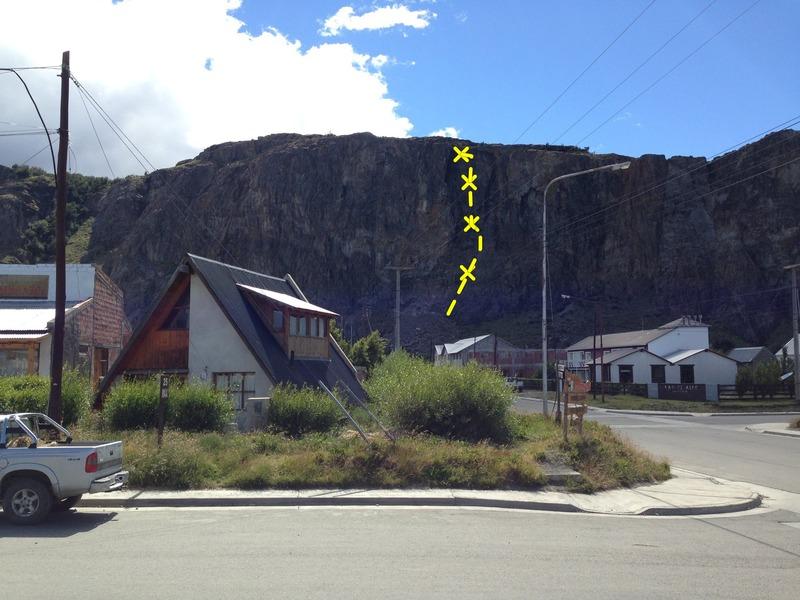 Rock Climbing Photo: Lo dejamos ahi
