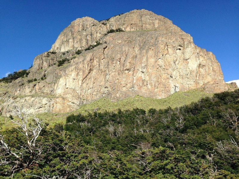 Rock Climbing Photo: Cerro Rosado
