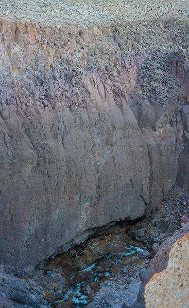 Eldorado Roof from the Gorge RIM