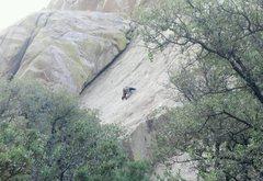 Rock Climbing Photo: Finger zinger