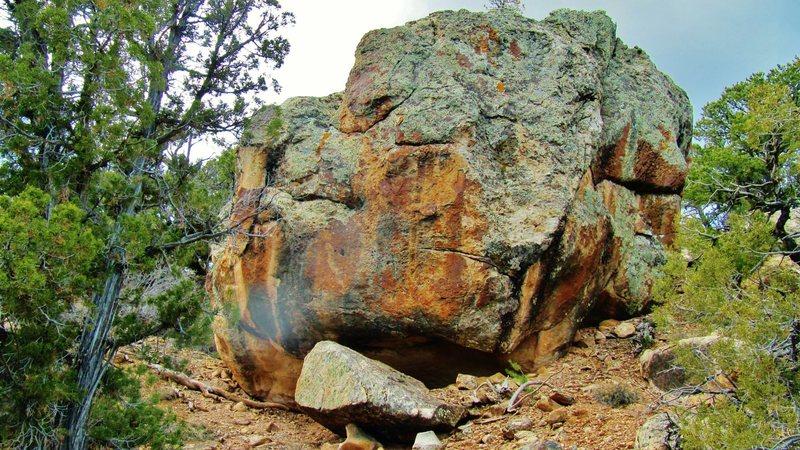 Rock Climbing Photo: Scintilla's north face.