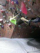 Rock Climbing Photo: Training for Crank 6