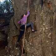 Rock Climbing Photo: One of my favorites taken by another climber in ou...