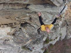 Rock Climbing Photo: Seth Tart, Edge of Enlightenment.  Photo: Dennis B...