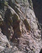 Rock Climbing Photo: Lower pitches. Photo Marc Tarnoski.