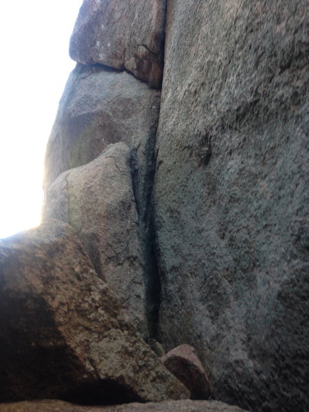 Rock Climbing Photo: Start of Innominate