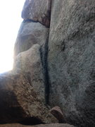 Rock Climbing Photo: Start of Innominate