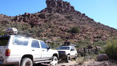 Rock Climbing Photo: One of our early development weekends. Note the ma...