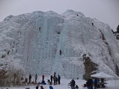 Rock Climbing Photo: During the Lake City Ice Fest.  Source: summitpost...