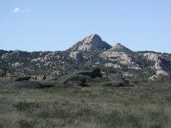 Rock Climbing Photo: Haystack Peak from Arapaho Trail