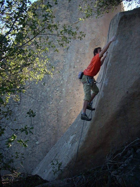 Rock Climbing Photo: Robbins slab