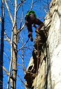 Rock Climbing Photo: Flying on King Kong 6b+