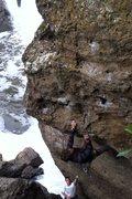 Rock Climbing Photo: Corey on Drifter