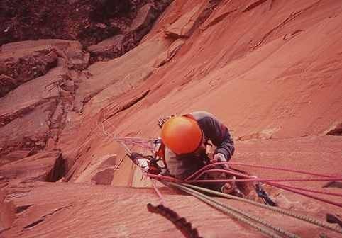 Rock Climbing Photo: around p5