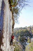Rock Climbing Photo: Pat living the dream.