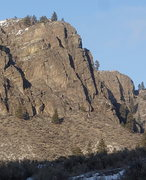 Rock Climbing Photo: SW Buttress - Right Side