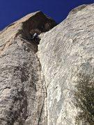 Little, dirty climb.
