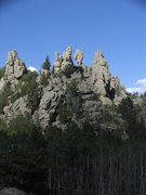 Rock Climbing Photo: A closer look at an intriguing group of spires