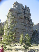 Rock Climbing Photo:  a typical mound at Ragged Top