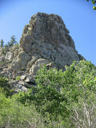 Rock Climbing Photo: Ragget Top Summit as seen from the SE.