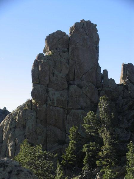 Rock Climbing Photo: A promising steep crack
