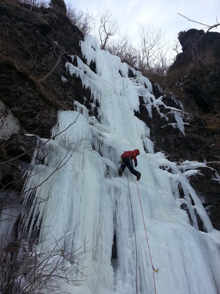 Rock Climbing Photo: Bryan P2 Banana, March 2014.