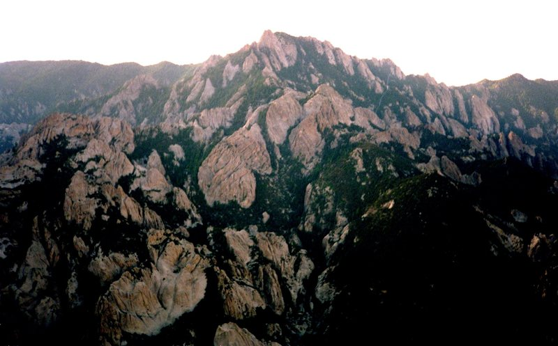 Rock Climbing Photo: Mineral Mtns Flyover