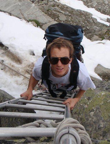 Me somewhere in Switzerland