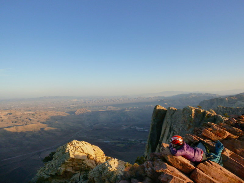Summit of Mount Wilson via Inti Watana into Resolution Arete. Pure bliss!