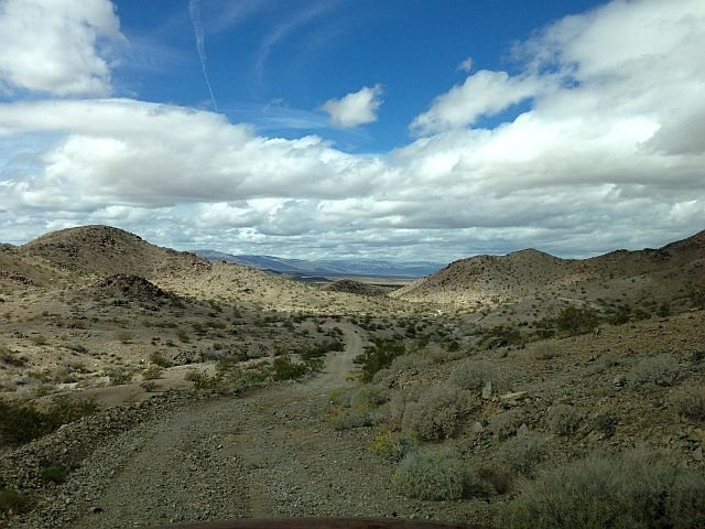 Looking west from Black Eagle Mine Road, Joshua Tree NP