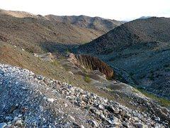 Rock Climbing Photo: Iron Chief Mine, Joshua Tree NP