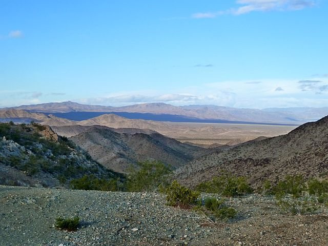 Pinto Basin from the top of Black Eagle Mine Road, Joshua Tree NP