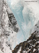 Rock Climbing Photo: From the top (near the rap anchor) looking down on...