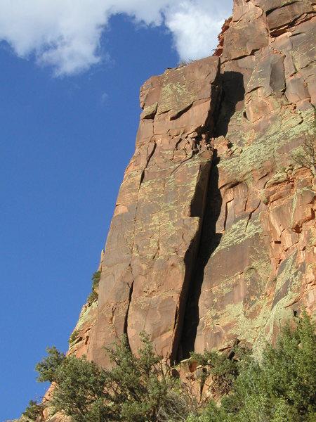 Rock Climbing Photo: Wind Tower, 5.11***  200 feet.