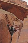 Rock Climbing Photo: Decisions, decisions... Climber: Levi Call Photo: ...