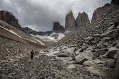 Rock Climbing Photo: Me in torers del paine NP, Chlie