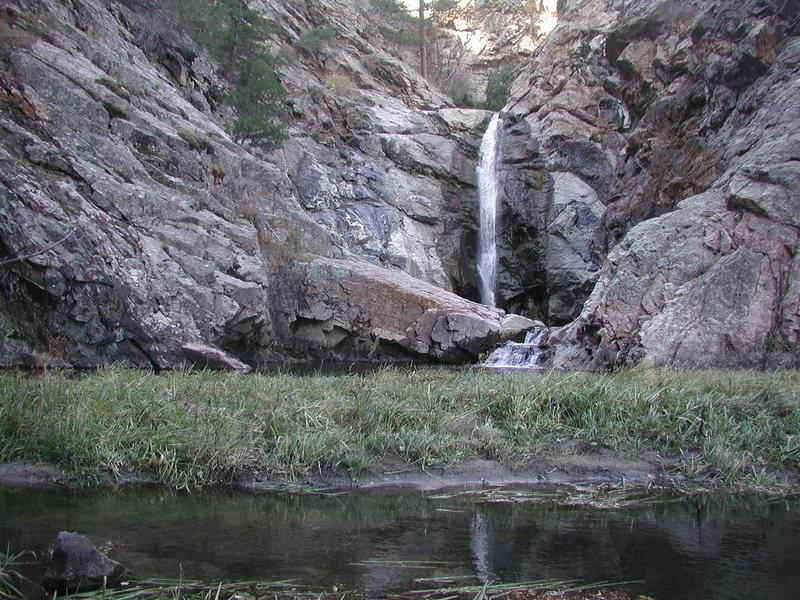 Rock Climbing Photo: Summer time at Duck Creek Falls