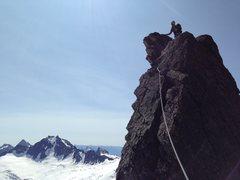 Rock Climbing Photo: Booyah!