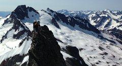 Rock Climbing Photo: On the East Ridge.