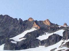 Rock Climbing Photo: East Ridge climbin.