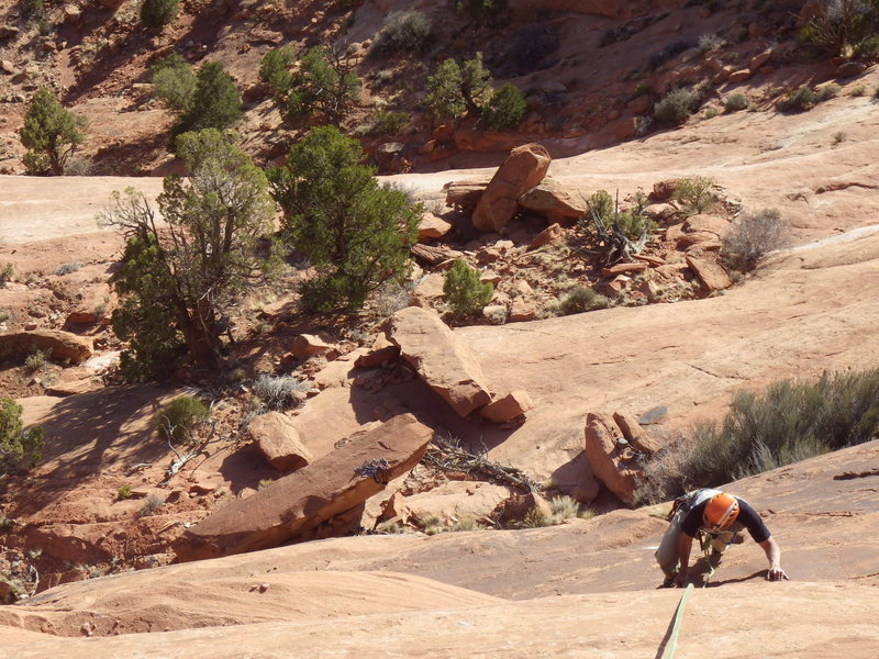 Rock Climbing Photo: come on up
